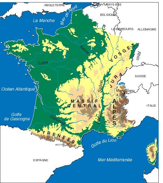 la-geographie-de-france